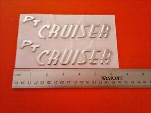 NEW 2001-2002-2003-2004-2005-2006-2007-2010 Chrysler PT Cruiser Emblem Badge