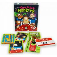 Too Many Monkeys Card Game Maths Counting Numbers Children's Educational