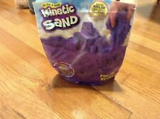 Kinetic Sand orgainal, Moldable Sensory Play Sand, Purple, not completelly full