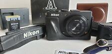 Nikon Coolpix A + WU1a wifi module + oryginal etui excellent condition,APS-C !!!