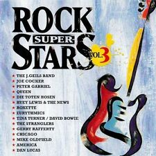 Rock Superstars 3 (1997, Virgin) J. Geils Band, Joe Cocker, Peter Gabriel.. [CD]