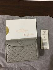 NWT Tory Burch Alexa Foldable Mini Leather Wallet Authentic