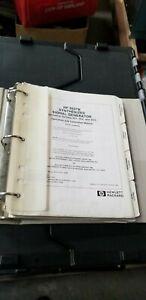 HP 8657B Signal Generator Operation and Calibration Manual