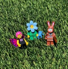 Legoland Lego Minifigure Spring Exclusive: Flower Girl, Butterfly, Bunny RETIRED