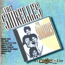 THE SHIRELLES - it's Music (16 Original Best Hits) CD Import RARE
