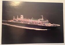 MS New Amsterdam @ Sea - Color Postcard - Holland America Line