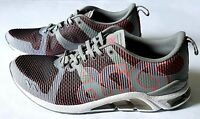 Asics GEL-Lyte One Eighty Mens HN6C1 Grey/Guava Running Shoes Sz 10.5, 12, 12.5