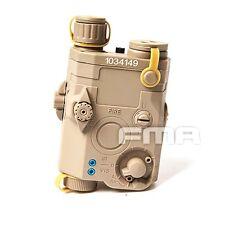 FMA Tactical PEQ 15 LA-5 Military Battery Case DE tb419 DE Free Shipping