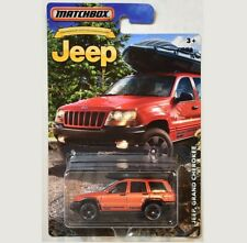 DMN33. 1999 Jeep Grand Cherokee. Anniversary Edition. Matchbox. NEW in Package!