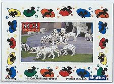 101 Dalmatians Movie Refrigerator Magnet 2 of 4 Trading Chase Card Special Card