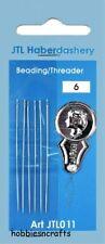 Paquete De 6 agujas Flexible Fina Largo & Accesorio para la elaboración de abalorios &