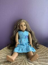 American Girl Doll Kanani. With 14 Pieces Of Clothing No Flaws