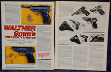 ORIGINAL Article WALTHER 9mm's Legacy Lives On: From P38 to P5 4-p Magazine 1987