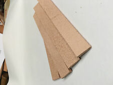 4 leather strop strips 3/4 x 5 1/2 fits Wicked edge sharpening system