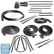 1965 Chevrolet Impala Weatherstrip Seal Deluxe Kit @