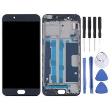 LCD Screen Display TFT Touch Digitizer With Frame Replacement For Oppo R9s BLACK