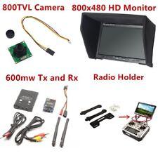 FPV Kit 5.8G 600mW 48Ch Wireless  transmitter ts832 rc832 plus Receiver Monitor
