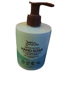 Join Organic Certified Hand Soap With Aloe Vera And Cloudberry