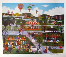 Jane Wooster Scott Hand Signed Lithograph THE UNVEILING OF MAJOR CULPEPPER