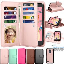 Luxury Magnetic Leather Wallet Case Card Slot Shockproof Folio Flip Cover