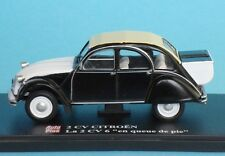 "2CV CITROEN ""6 QUEUE DE PIE"" 1/43 ELIGOR CAR - AUTO PLUS CARS 2 CV -AUTOS 39"
