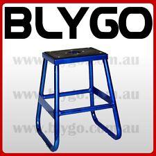 BLUE Steel Static 405mm Stand 50cc 125cc 150cc 160cc PIT PRO TRAIL DIRT BIKE