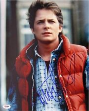 Michael J. Fox Signed Back to the Future Autographed 11x14 Photo PSA/DNA #J03267