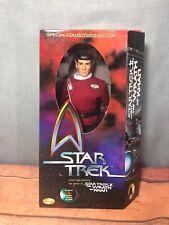 "Star Trek Wrath Khan Ltd Ed KB Toys 12"" Captain Spock Action Figure Playmates -1"