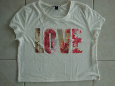 T-shirt blanc JENNYFER – Taille M