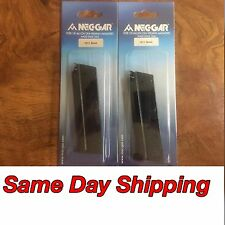 2 Pack Mec-Gar MGCGOV9LB 1911 Full-Size 9mm 9 round Steel Magazine Fast Shipping