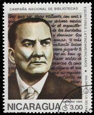 """NICARAGUA 1540 (Mi2678) - Salomon de la Selva """"Writer"""" (pf53363)"""