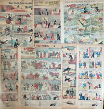 25 HAIRBREADTH HARRY Sunday comic strips by F.O. Alexander from 1929 to 1935