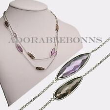 Authentic Lori Bonn Sterling Silver Pizzazz Wrap Necklace 511506A