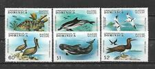 DOMINICA, MNH, SCOTT # 618/623