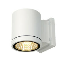 Intalite exterior IP55 ENOLA_C OUT WL wall light, round, white, 9W LED, 3000K
