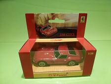 HOTWHEELS SHELL V-POWER HOLLAND FERRARI 250 GTO - RED 1:38 - RARE SELTEN - NMIB