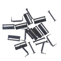 10PCS IDC 20 PIN Female Header  FC-20 2.54 mm pitch Socket Connector JR