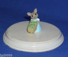 Hallmark Easter Merry Miniature Daughter Bunny with Wheelbarrow 1991 Gold Seal