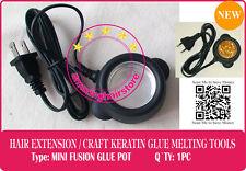 Hot Melt Glue Pot 4 Keratin Fusion Glue Prebonded Remy Human Hair Extension-110V