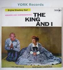 THE KING & I - Broadway Cast Recording - Ex LP Record