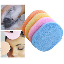 5Pcs Soft Facial Cleansing Sponge Face Makeup Wash Pad Cleaning Sponge Puff HOT