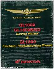 2012 – 2017 Honda GL1800A/B GoldWing Motorcycle Service & Electrical Troubles...