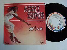 "MINO : Assez super / Reggae - 7"" 45T 1980 French RKM Bruxelles VOGUE 101310"