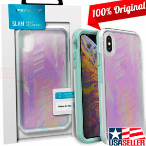 NEW LifeProof SLAM Series Case Clear Palm Daze Cover for iPhone XS Max