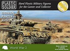 The Plastic Soldier Company 15mm German Panzer III F, G and H Tank WW2V15009