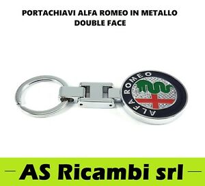 PORTACHIAVI LOGO ALFA ROMEO 147 159 156 MITO GIULIETTA GT STELVIO GIULIA
