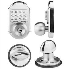 Mechanical Keyless Entry Deadbolt Door Lock Stainless Steel (Pass Code Or Keys)