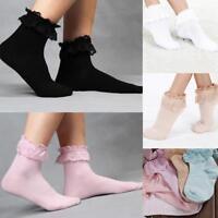 Frauen Socken Netzsocken Spitze Söckchen Ultradünne Erwachsene 4-Farben