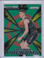 2018-19 Panini Prizm Kevin Huerter Rookie RC Green Freshman Phenoms ATL Hawks
