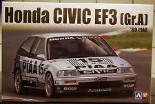 1989 Honda Civic EF 3 Nr. 15 Gr. A PIAA, 1:24, Aoshima Beemax 084588 # 06